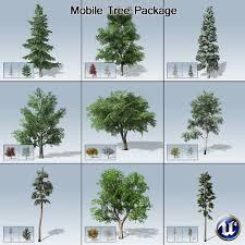 mobile tree package ue4 speedtree