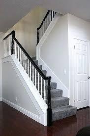 black staircase black stair rail best railing ideas on painted railings staircase