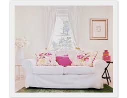 Pink Sofa Slipcover by Sanity Fair Ask Sanity Fair Slipcovers