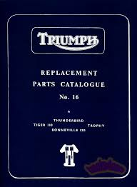 triumph 650 parts manual catalogue spare book ebay