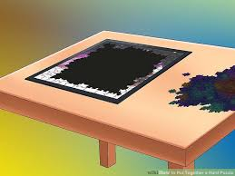 Jigsaw Puzzles Tables How To Put Together A Hard Puzzle 14 Steps With Pictures