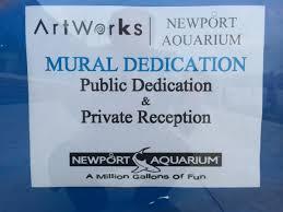 aquarium unveils shark wall mural wvxu view slideshow 2 of 14