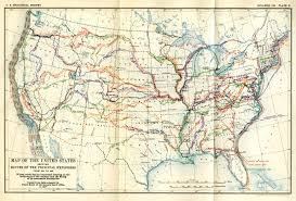 Images Of The United States Map by Historical Maps Of The United States And North America Vivid Maps