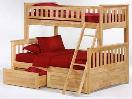 Full Bunk Beds Defaultname Twin Over Full Bunk Bed With Builtin - Full and twin bunk bed