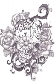 sugar skull tattoos picmia