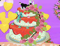 amazing wedding cake decoration cooking games