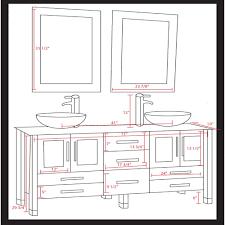 Standard Bathroom Vanity Top Sizes What Is Standard Bathroom Vanity Height Bathroom Decoration
