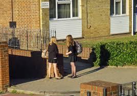 candid schoolgirls file dorking schoolgirls patiently waiting for mum 6258299657 jpg