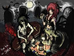 zombie halloween background bim u0026 bambi wallpaper and background 1600x1200 id 340176