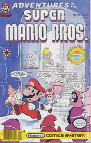 adventures super mario brothers 1991 comic books