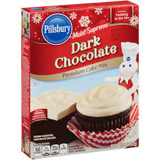 pillsbury moist supreme dark chocolate cake mix 15 25 oz box reviews