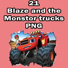 monster truck invitation blaze and the monster clip art nursery decor party