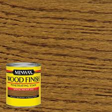 Minwax  Qt Wood Finish Special Walnut OilBased Interior Stain - Interior wood stain colors home depot