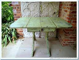 Distressed Table Diy Furniture Paint Projects From The Past