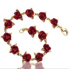 bracelet rose images Danbury mint a dozen roses bracelet boutique pinterest mint jpg