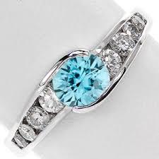 zircon engagement rings blue zircon december s jewelers