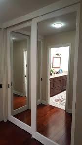 Mirror Sliding Closet Doors Mirror Sliding Door Closet Bedroom Extraordinary Sliding Doors