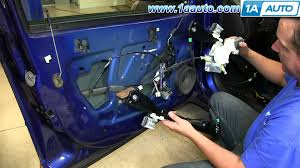 how to install replace power window regulator 2005 10 pontiac g6