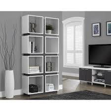 White 2 Shelf Bookcase by Providence Open Shelf Bookcase Roselawnlutheran
