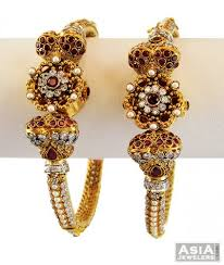 gold earrings price in pakistan ruby antique kada 1 pc only asba56658 us 1 681