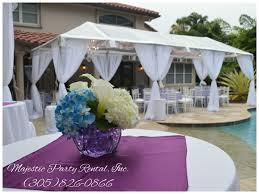 party rental hialeah majestic party rental wedding tent rentals hialeah fl