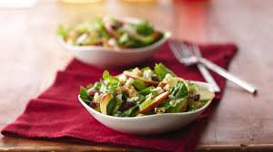 apple and celery salad with creamy lemon dressing life made