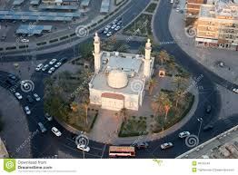 roundabout mosque in kuwait city stock photo image 49153249
