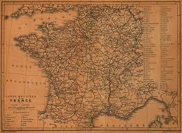 Back Road Maps France Road Map 1914 France U2022 Mappery