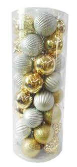 time shatterproof ornaments silver gold walmart canada