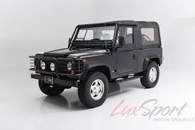 land rover defender black 1997 land rover defender 90 stock 1997110 for sale near new hyde