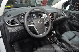 opel mokka opel mokka x interior at the 2016 geneva motor show live indian