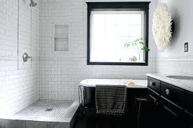 dark tiles in small bathroom tags black tile in bathroom idea