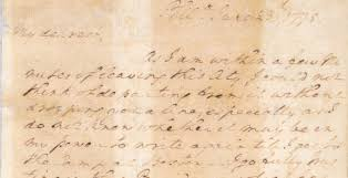 a love letter from general washington george washington u0027s mount