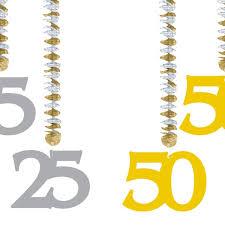hochzeitstage jubil um girlande jubiläum 3x spirale 25 50 geburtstag hochzeitstag silber