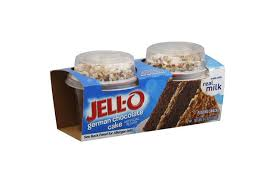 jell o pudding snacks mix ins german chocolate cake kraft recipes