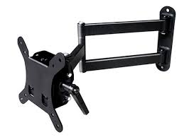 best swivel tv wall mount stable series small full motion wall mount for 13 27in tvs up to