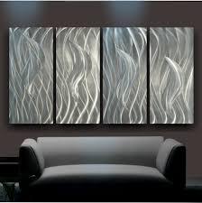 Sheet Metal Garden Art - wall art plain metal wall art u201cflamin u201d metal wall art kalio