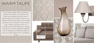 warm taupe autumn winter colour report blinds