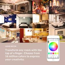 Home Decor A Sunset Design Guide Flux Bluetooth Led Smart Bulb Wireless Multi Color Changing