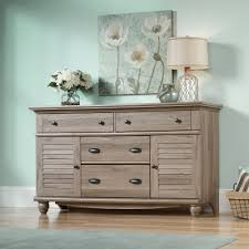 Sauder Nightstand Oak Harbor View Dresser 414942 Sauder
