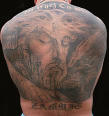 full back jesus tattoo design for men tattoos book 65 000