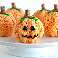 rice crispy treat pumpkins pumpkin rice krispie treats gallery foodgawker