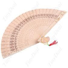 wooden fans culture characteristic wooden folding fan sandalwood