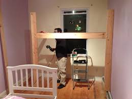 Dimensions Of Toddler Bed Kids Space Loft Bed Bunk Bed Build With Hanging Toddler Bed And