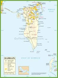 map of bahrain bahrain maps maps of bahrain