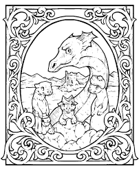 sirrush coloring page scottish children colouring page loch ness