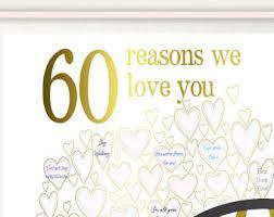 60 birthday gifts 60th birthday gift 60th birthday gifts for women poster