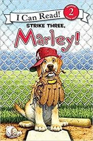 can marley amazon com marley strike three marley i can read level 2