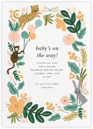 baby shower invitations at paperless post