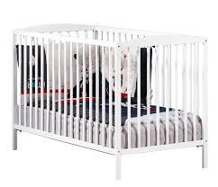 chambre bébé laqué blanc lit bébé 120x60 en hêtre laqué blanc nao sauthon